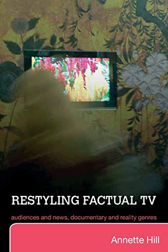 Restyling Factual TV By Annette Hill (Lund University, Sweden)