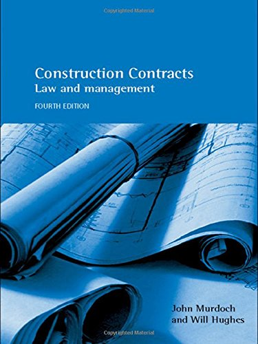 Construction Contracts By John Murdoch