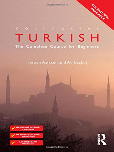 Colloquial Turkish By Ad Backus