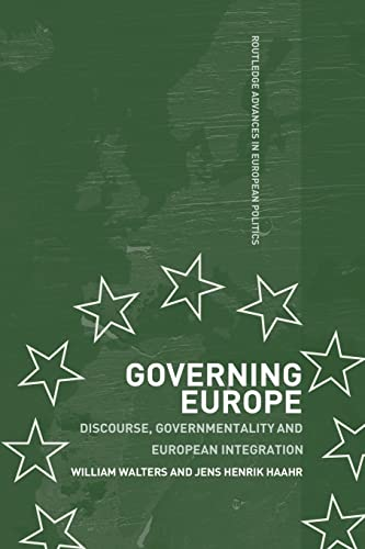 Governing Europe By William Walters