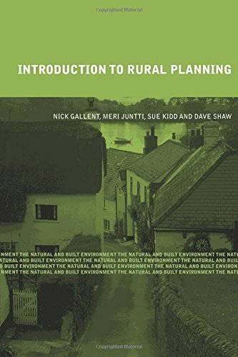 Introduction to Rural Planning (The Natural and Built Environment Series) By Nick Gallent