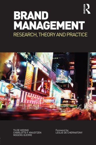 Brand Management By Tilde Heding (Copenhagen Business School, Denmark)