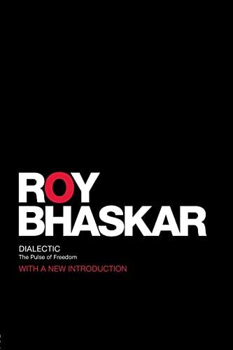 Dialectic By Roy Bhaskar