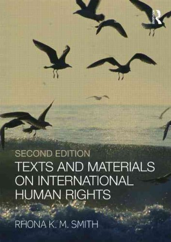 Texts and Materials on International Human Rights By Rhona K. M. Smith