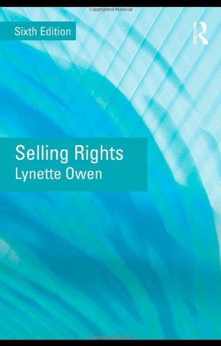 Selling Rights By Lynette Owen