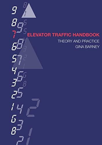 Elevator Traffic Handbook By Gina Carol Barney