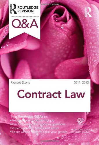 Q&A Contract Law 2011-2012 (Questions and Answers) By Richard Stone