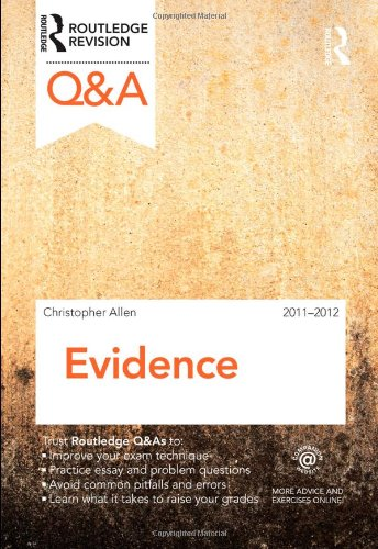 Q&A Evidence 2011-2012 By Charanjit Singh (University of West London, UK)