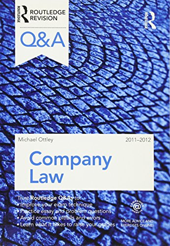 Q&A Company Law 2011-2012 By Mike Ottley (University of Greenwich, London, UK)