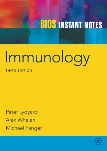 BIOS Instant Notes in Immunology By Peter Lydyard