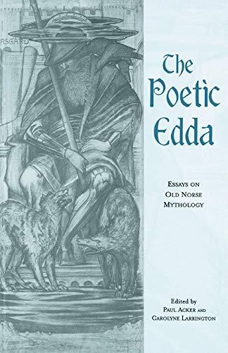 The Poetic Edda By Paul Acker (Saint Louis University, USA)