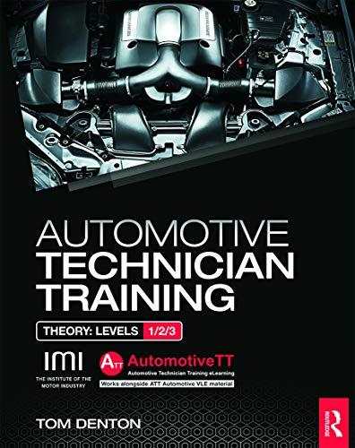 Automotive Technician Training: Theory (Att Training) By Tom Denton