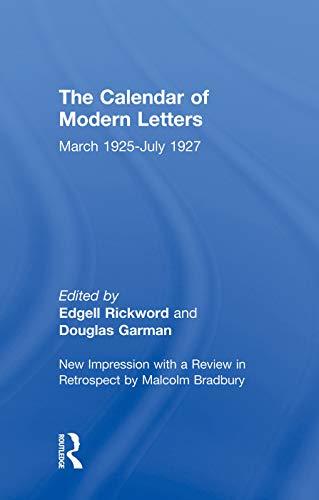 Calendar Modern Letts 4v Cb By Edgell Rickword