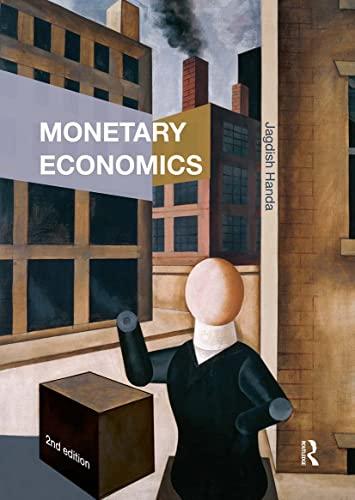 Monetary Economics By Jagdish Handa (McGill University, Canada)