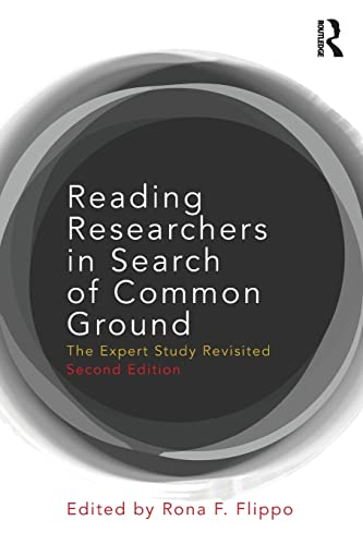 Reading Researchers in Search of Common Ground By Rona F. Flippo (University of Massachusetts, Boston)