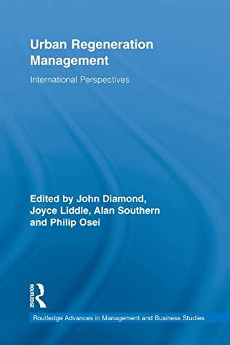 Urban Regeneration Management By John Diamond (Edge Hill University, UK)