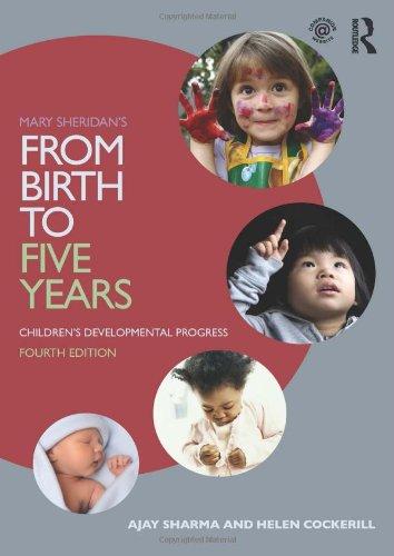 Mary Sheridan's From Birth to Five Years: Children's Developmental Progress By Ajay Sharma (Southwark Primary Care Trust, UK)