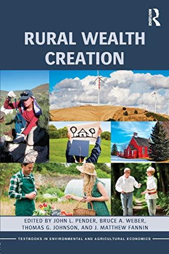 Rural Wealth Creation By John L. Pender