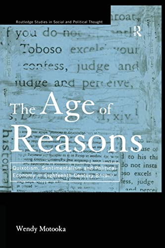 The Age of Reasons By Wendy Motooka