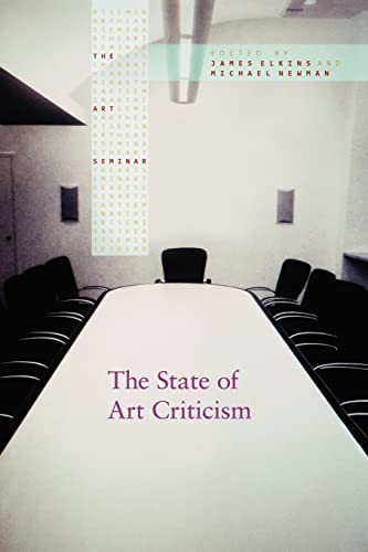 The State of Art Criticism By James Elkins