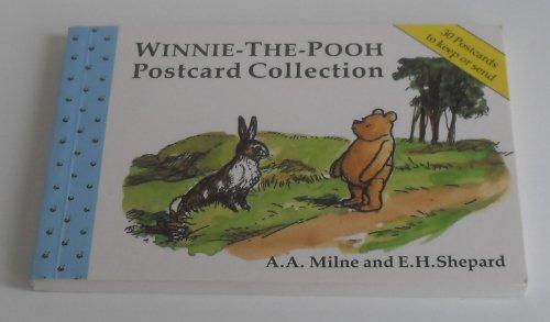 Winnie-the-Pooh Postcard Book By A. A. Milne
