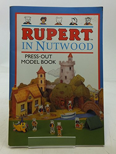 Rupert in Nutwood Press Out Model Book By Mary Risk