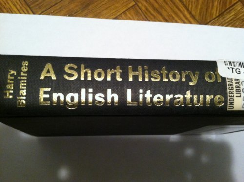 Short History of English Literature By Harry Blamires