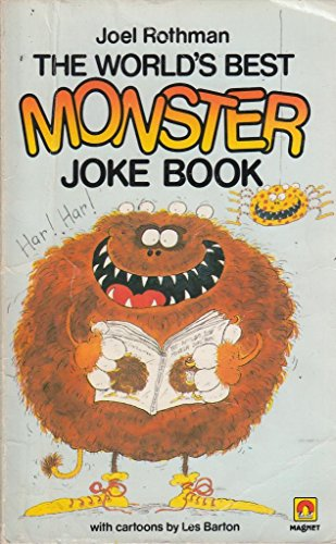 The World's Best Monster Joke Book By Joel Rothman