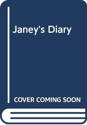 Janey's Diary By Mary Hooper