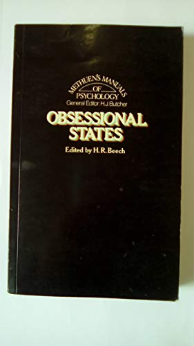 Obsessional States By Edited by H.R. Beech
