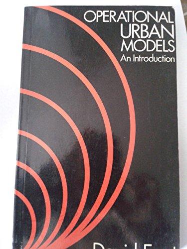 Operational Urban Models By David H.S. Foot