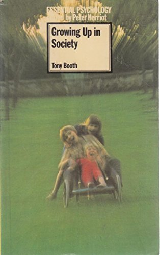Growing Up in Society By Tony Booth