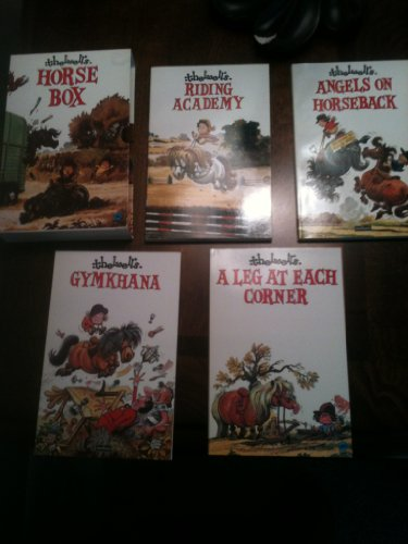 Thelwell Horse Box: Angels on Horseback / Thelwell's Gymkhana / A Leg at Each Corner / Thelwell's Riding Academy By N. Thelwell