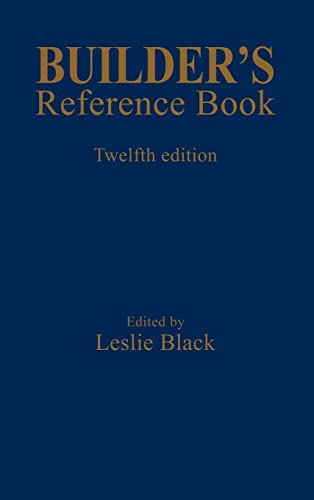 Builder's Reference Book Hardback Book The Cheap Fast Free Post
