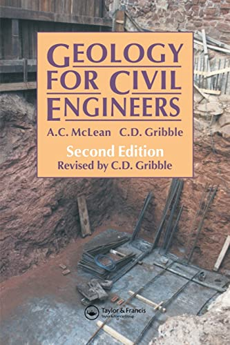 Geology for Civil Engineers By C. Gribble