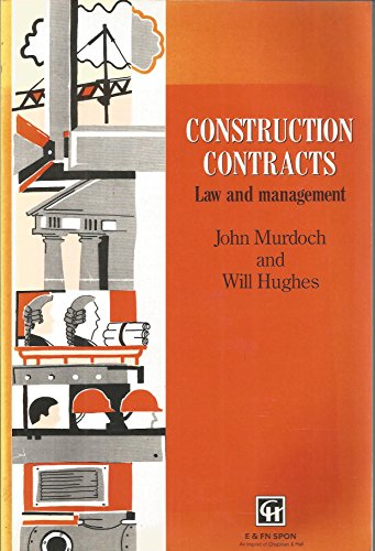 Construction Contracts By J. R. Murdoch
