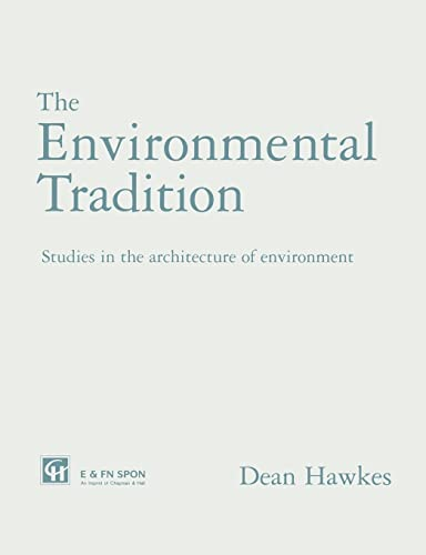 The Environmental Tradition By Dean Hawkes