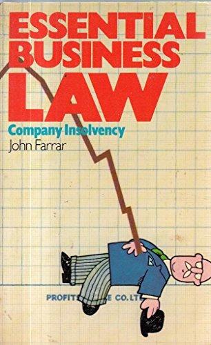 Company Insolvency by John H. Farrar