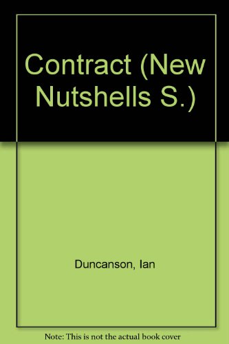 Contract (New Nutshells S.) By Ian Duncanson