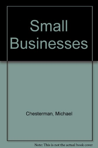 Small Businesses By Michael Chesterman