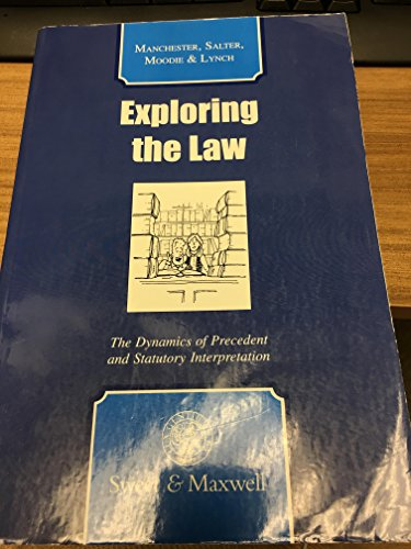 Exploring the Law By Colin Manchester