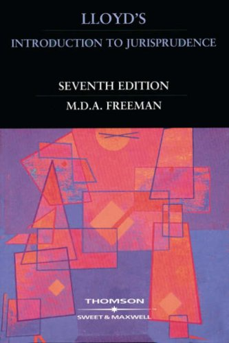 Lloyd's Introduction to Jurisprudence By Michael Freeman