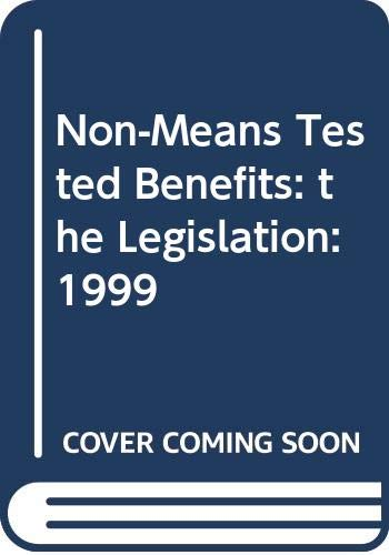 Non-Means-Tested-Benefits-the-Legislation-by-Hooker-Ian-and-Whit-0421693606