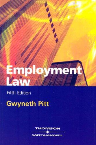 Employment Law By Gwyneth Pitt