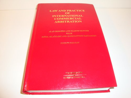 Law & Practice of International Commercial Arbitration By Alan Redfern