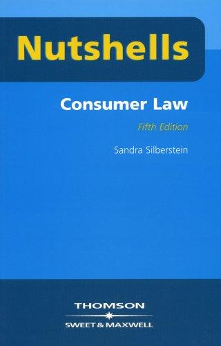 Nutshells Consumer Law By Sandra Silberstein