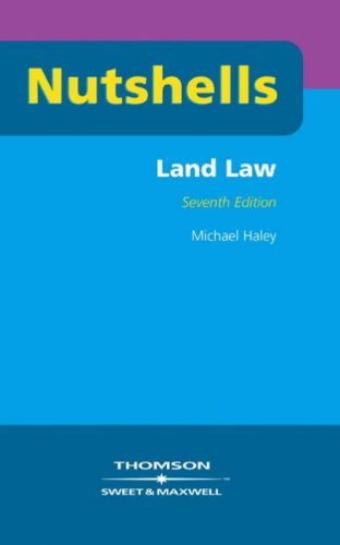 Nutshells Land Law By Michael Haley
