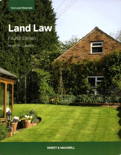 Land Law: Text and Materials By Nigel Gravells
