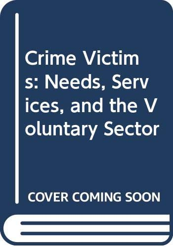 Crime Victims By R. I. Mawby