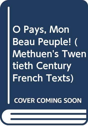 O Pays, Mon Beau Peuple! By Sembene Ousmane